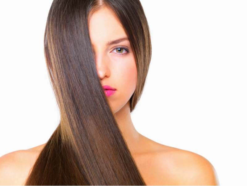 how to get smooth hair naturally in hindii